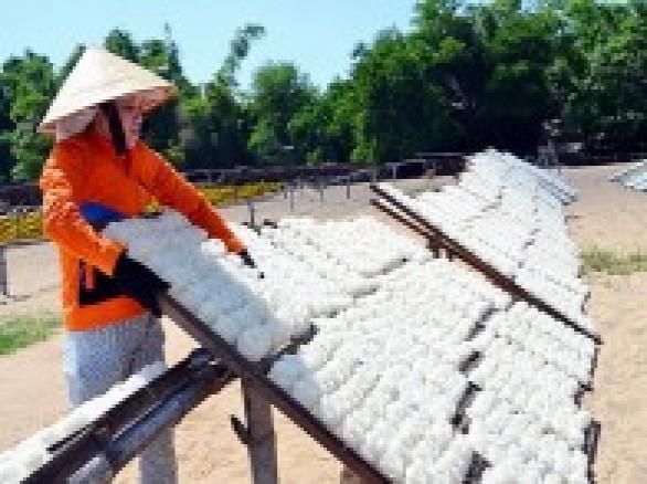 Nghề làm bún ở Bình Định