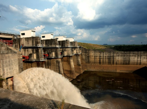 Hình ảnh đẹp của thủy điện Buôn Kuốp