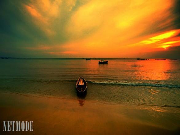 Hoàng hôn trên Bãi Thơm - Phú Quốc