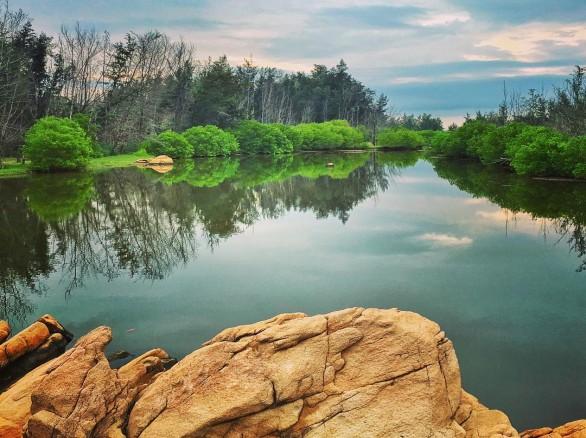 Yên bình biền Hồ Cốc