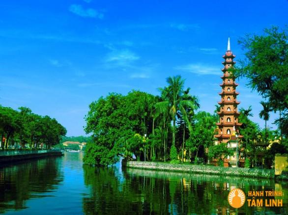 Chùa Trấn Quốc - Ngôi chùa cổ nhất ở Hà Nội