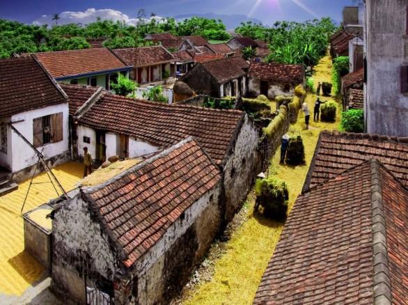 Bình dị những ngôi làng mang nét đồng quê ở Ninh Bình