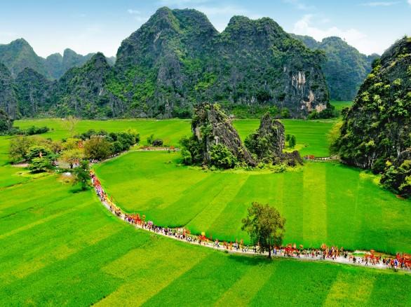 Lễ hội đền Thái Vi ở Ninh Bình
