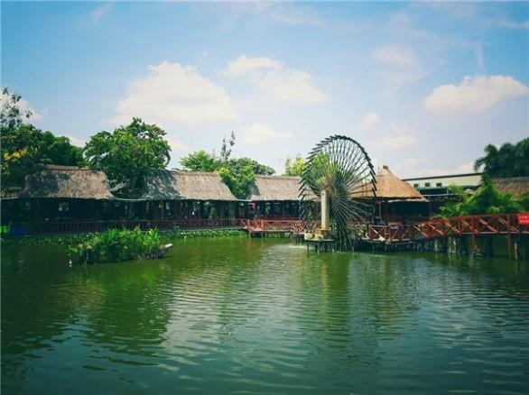 Khu du lịch sinh thái Tháp Ngà - Bình Xuyên