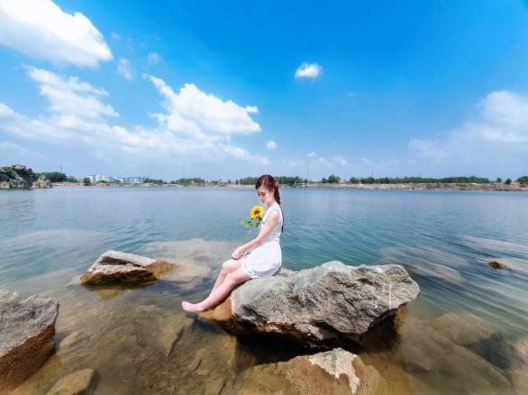 Hồ Đá ở Thủ Đức