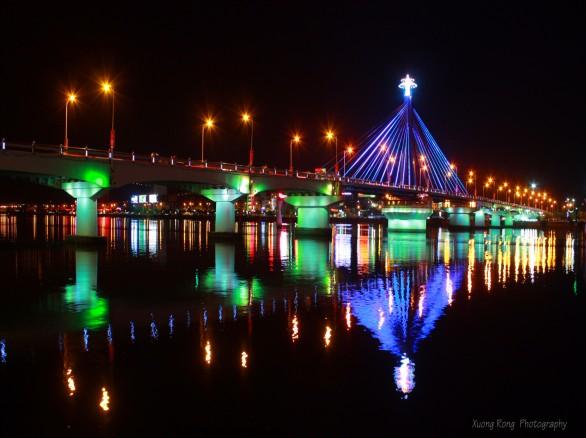 Ấn tượng cầu quay Sông Hàn