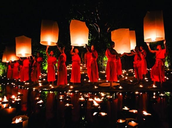 Lễ hội Ok om bok ở Trà Vinh