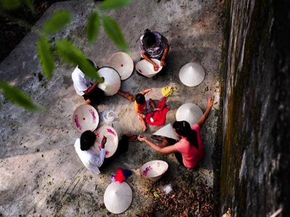 Chợ làng Chuông