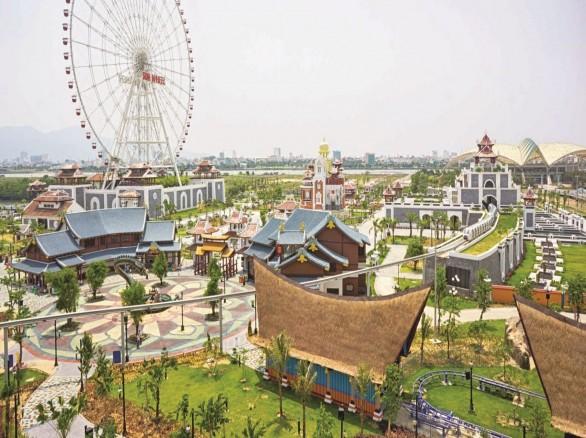 Khu vui chơi nổi tiếng mới lạ Asia Park