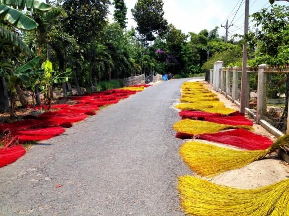 Làng dệt chiếu lác Phú Tân - Phú Yên