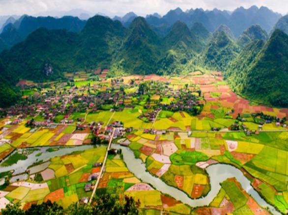 Thung lũng Bắc Sơn - thiên đường màu xanh lá cây trên trái đất