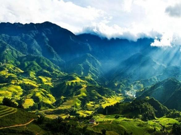 Thung lũng Mường Hoa ở Sa Pa