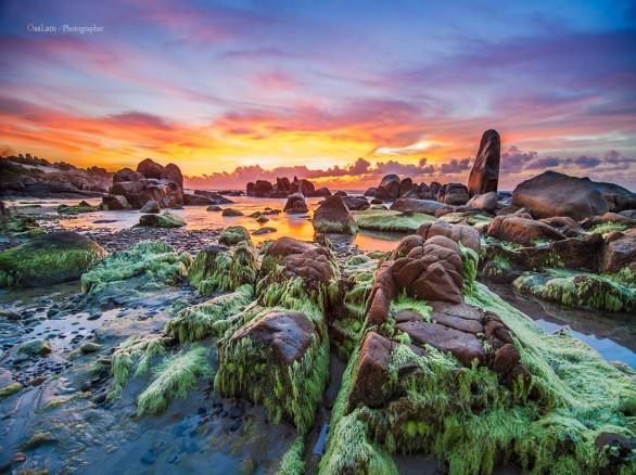Đẹp đến kì dị Biển Cổ Thạch