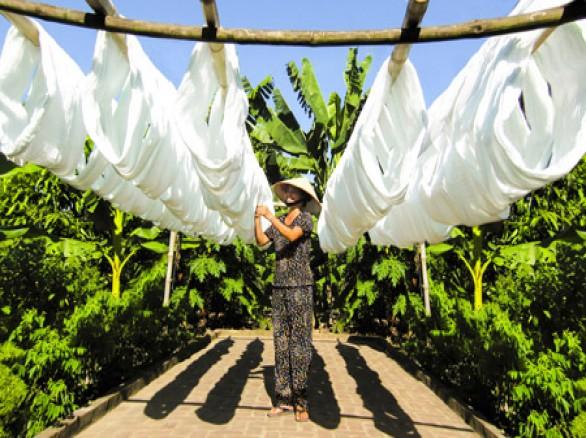 Làng nghề dệt đũi Nam Cao