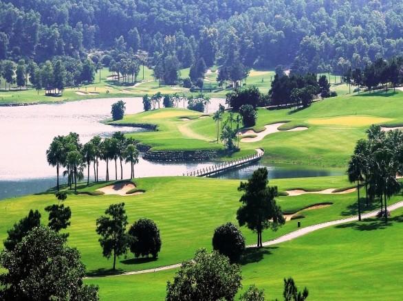Tham quan, giải trí ở sân golf Ngôi sao Chí Linh