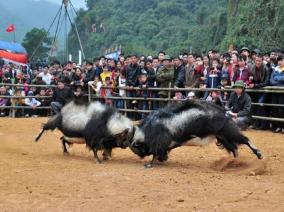 Nhộn nhịp lễ hội Động Tiên