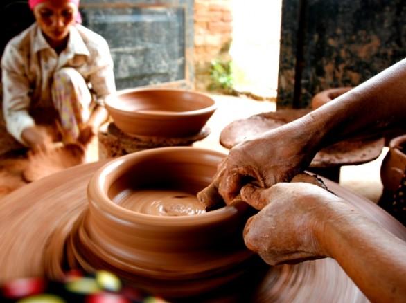 Nghề làm gốm ở Hương Canh