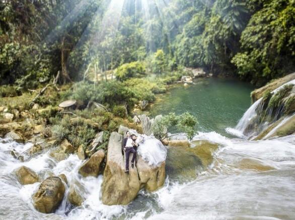 Thác Bản Ba - cô sơn nữ giữa núi rừng Tuyên Quang