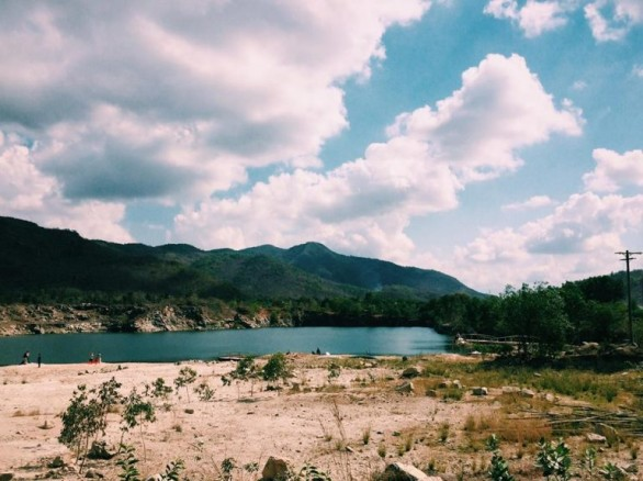 Du lịch Vũng Tàu ghé Hồ Đá Xanh