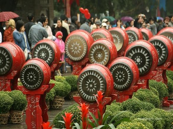 Làng nghề làm trống Lâm Yên