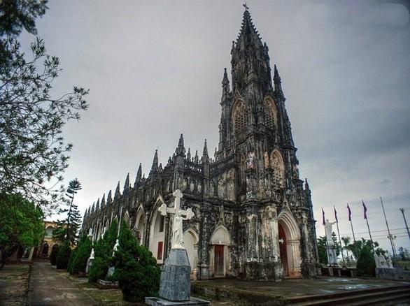 Nhà thờ Trà Cổ - Nhà thờ đẹp nhất vùng Bắc Bộ