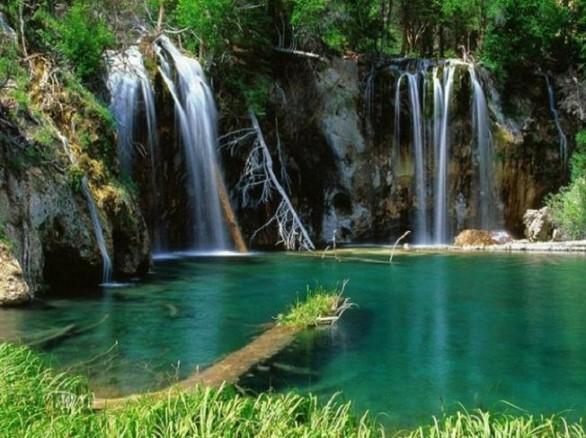 Chiêm ngưỡng cảnh thiên nhiên hùng vĩ tại suối thác Cốc San