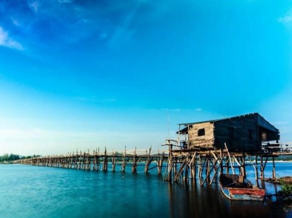 Cầu Ông Cọp - Cầu gỗ dài nhất Việt Nam