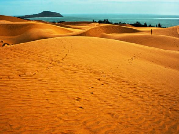 Đã mắt với Đồi cát bay trải dài ở Mũi Né