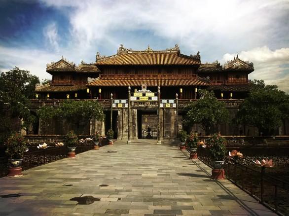 Nét cổ kính ở Hoàng Thành Huế