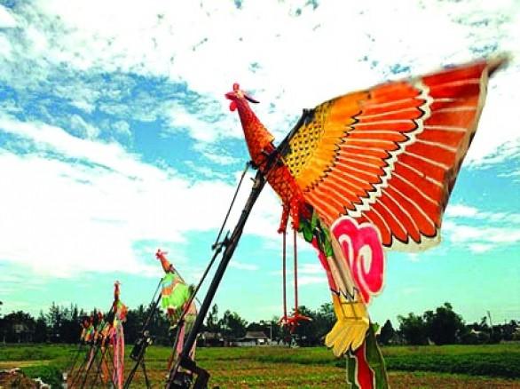 Diều Huế - Nghệ thuật múa rối trên không