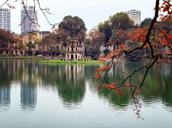 Tháp Rùa - nơi hồn thiêng của Hà Nội