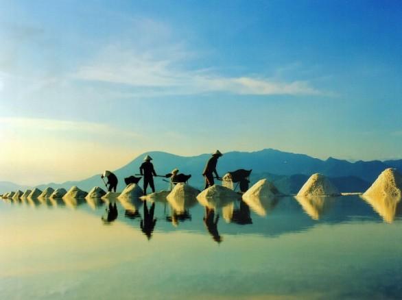 Ruộng muối Ninh Thuận