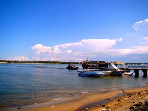 Ngắm vẻ bình dị của Thu Bồn - con sông lớn nhất Quảng Nam