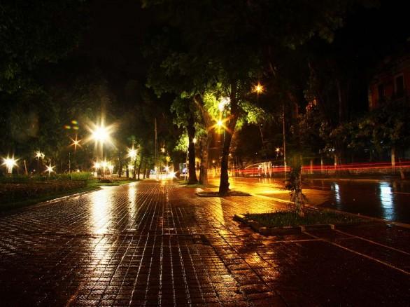Phố Hà Nội về đêm