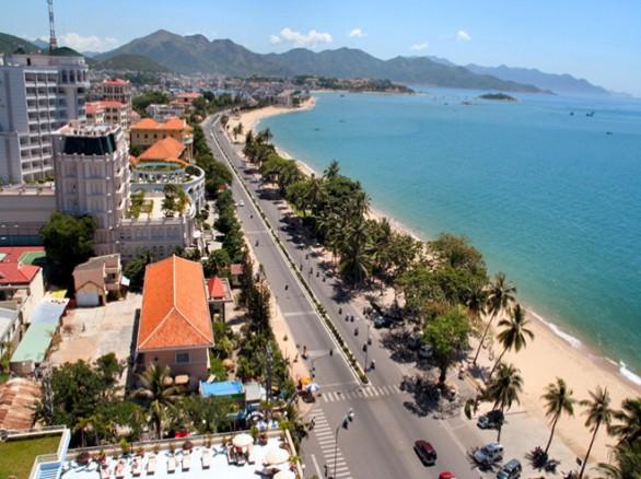 Một góc của thành phố Nha Trang xinh đẹp