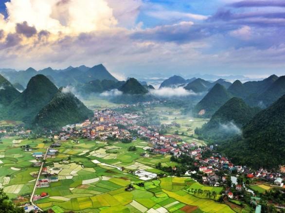 Và cảnh đẹp mê hoặc ở thung lũng Bắc Sơn, Lạng Sơn