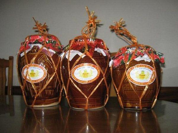 Rượu ngâm Hoành Bồ- đặc sản cho nam giới